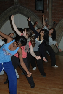 Give into Dance young people