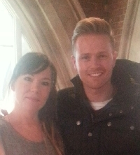 Nicky Byrne and Briony